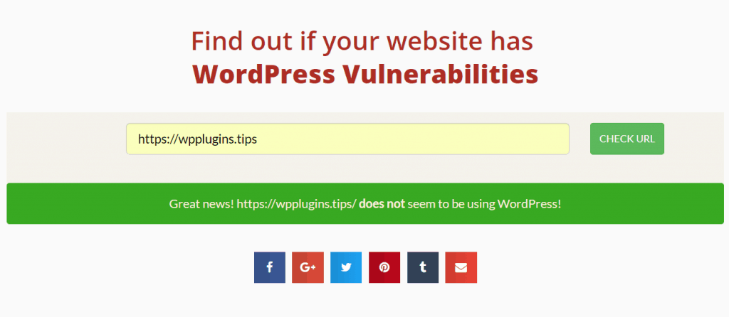 WordPress Vulnerabilities Detectors