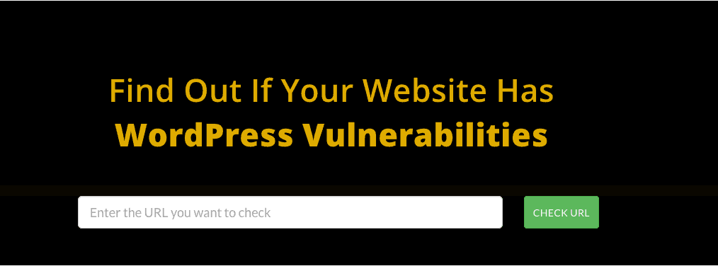 check wordpress vulnerability